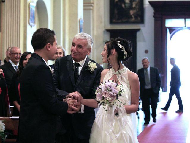 Il matrimonio di Andrea e Veronica a Cislago, Varese 17