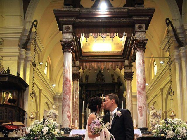 Il matrimonio di Andrea e Veronica a Cislago, Varese 26