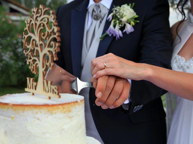 Il matrimonio di Andrea e Veronica a Cislago, Varese 40