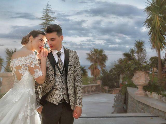 le nozze di Andrea e Vincenzo