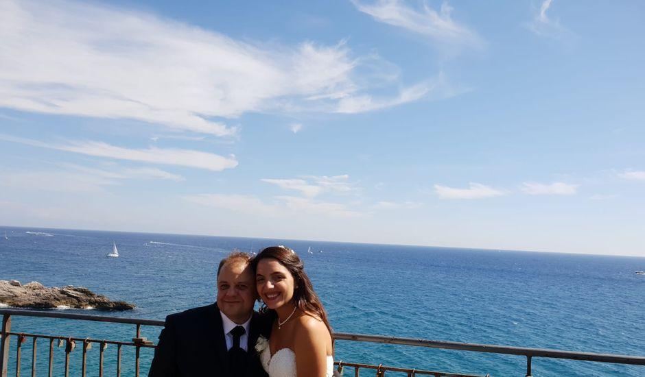 Il matrimonio di Silvio e Miriam a Gaeta, Latina