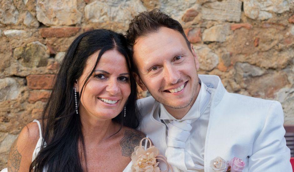 Il matrimonio di Daniele e Ornella a Castagneto Carducci, Livorno