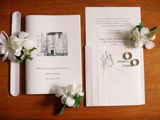 Le nozze di Cristina e Alessio 2