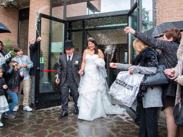 Il matrimonio di Luigi e Siham a Cavriago, Reggio Emilia 17