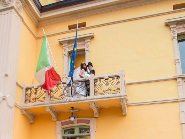 Il matrimonio di Luigi e Siham a Cavriago, Reggio Emilia 26