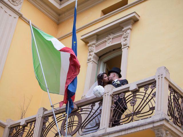 Il matrimonio di Luigi e Siham a Cavriago, Reggio Emilia 27