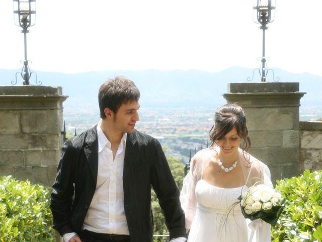 Il matrimonio di Simone e Valentina a Montemurlo, Prato 166