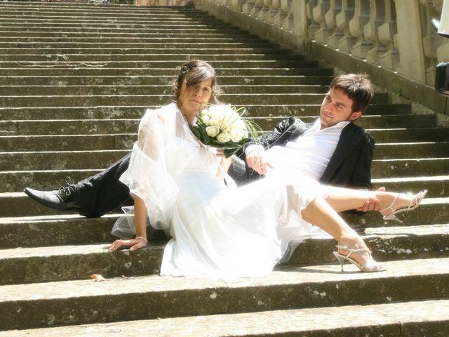 Il matrimonio di Simone e Valentina a Montemurlo, Prato 201
