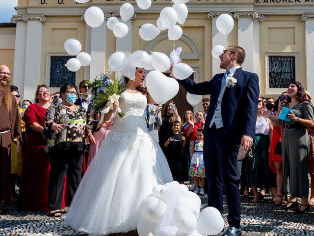 Il matrimonio di Federico e Valeria a Novara, Novara 51