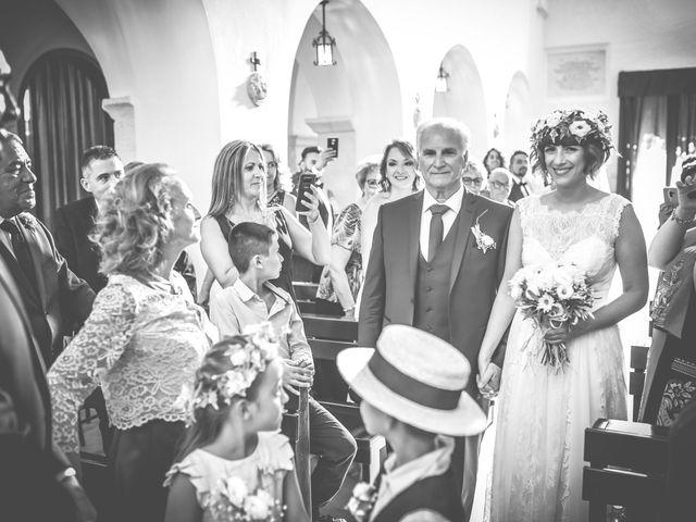 Il matrimonio di Mina e Dario a Cisternino, Brindisi 12