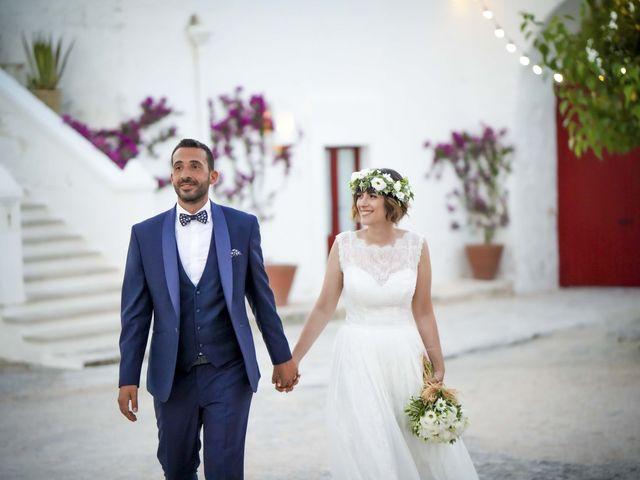 Il matrimonio di Mina e Dario a Cisternino, Brindisi 95