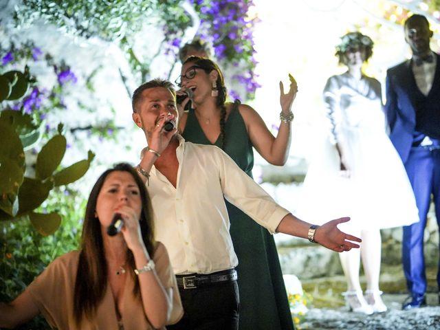 Il matrimonio di Mina e Dario a Cisternino, Brindisi 108