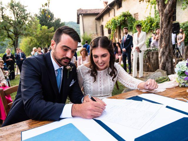 Il matrimonio di Andrea e Valeria a Perego, Lecco 25