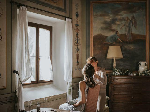 Il matrimonio di Filippo e Valentina a Montegridolfo, Rimini 9