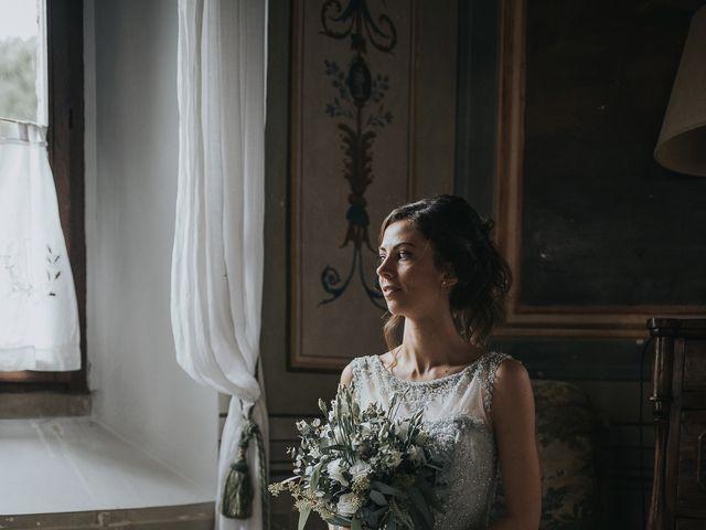 Il matrimonio di Filippo e Valentina a Montegridolfo, Rimini 17