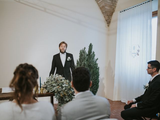 Il matrimonio di Filippo e Valentina a Montegridolfo, Rimini 24