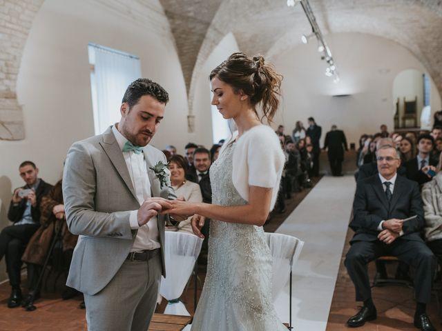Il matrimonio di Filippo e Valentina a Montegridolfo, Rimini 28