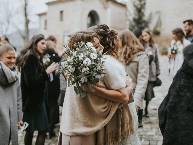 Il matrimonio di Filippo e Valentina a Montegridolfo, Rimini 30