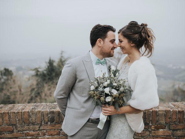 Il matrimonio di Filippo e Valentina a Montegridolfo, Rimini 33