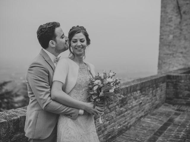 Il matrimonio di Filippo e Valentina a Montegridolfo, Rimini 34