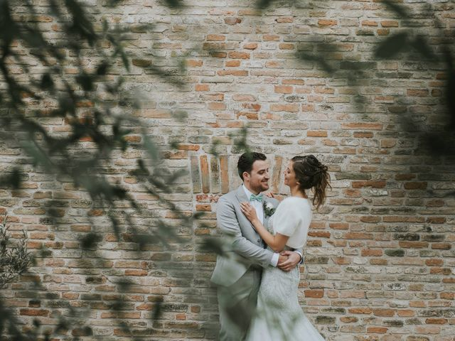Il matrimonio di Filippo e Valentina a Montegridolfo, Rimini 35