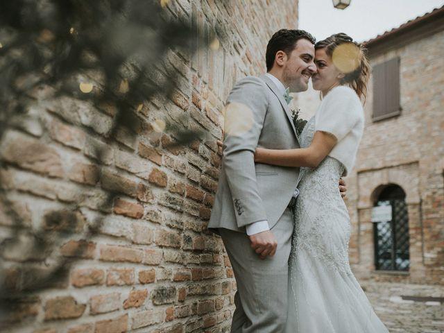 Il matrimonio di Filippo e Valentina a Montegridolfo, Rimini 36