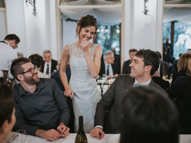 Il matrimonio di Filippo e Valentina a Montegridolfo, Rimini 45