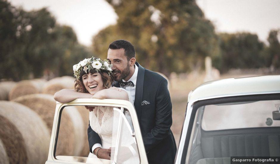 Il matrimonio di Mina e Dario a Cisternino, Brindisi