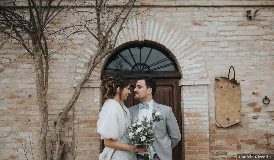Il matrimonio di Filippo e Valentina a Montegridolfo, Rimini