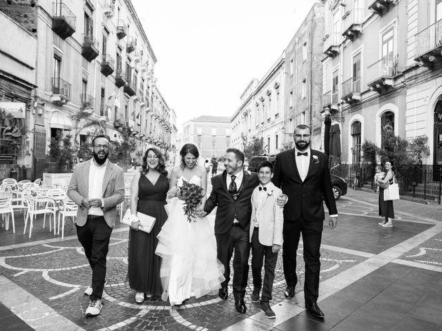 Il matrimonio di Claudio e Clara a Acireale, Catania 57