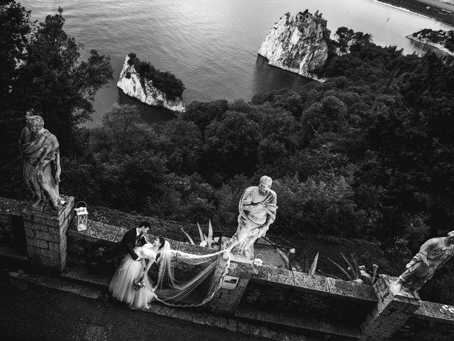 Il matrimonio di Massimo e Margherita a Duino-Aurisina, Trieste 51