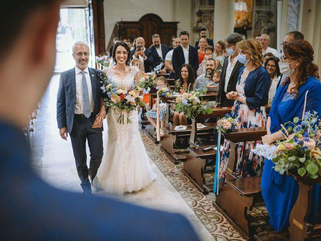Il matrimonio di Alex e Monica a Rodengo-Saiano, Brescia 17