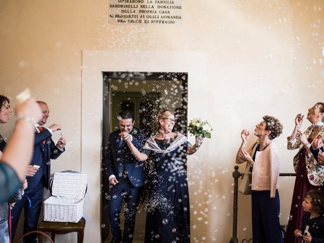 le nozze di Annamaria e Massimo