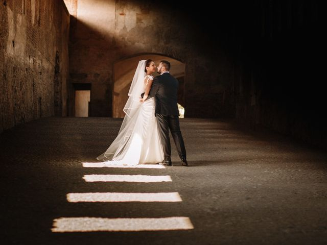 Il matrimonio di Cesare e Alessia a Vigevano, Pavia 123