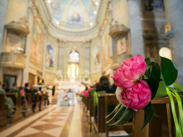 Il matrimonio di Daniele e Camilla a Calco, Lecco 16
