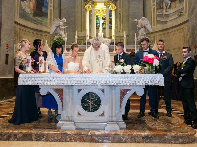 Il matrimonio di Daniele e Camilla a Calco, Lecco 26