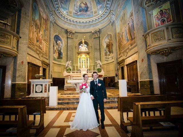 Il matrimonio di Daniele e Camilla a Calco, Lecco 28
