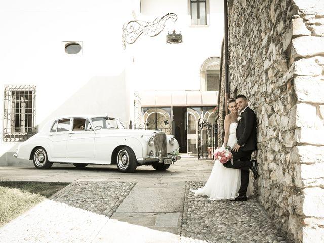 Il matrimonio di Daniele e Camilla a Calco, Lecco 38