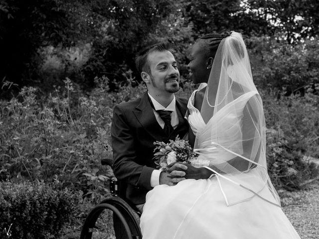 Il matrimonio di Barkissa e Rolando a Besenzone, Piacenza 6