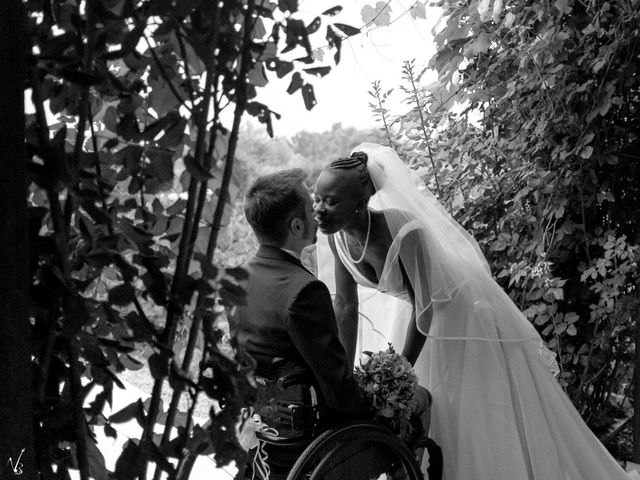 Il matrimonio di Barkissa e Rolando a Besenzone, Piacenza 8