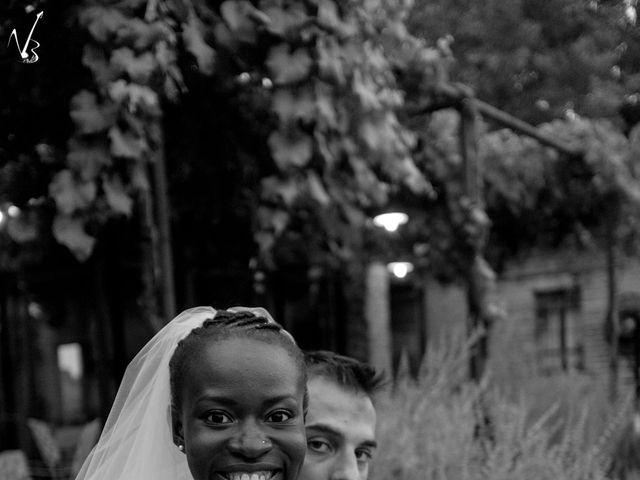 Il matrimonio di Barkissa e Rolando a Besenzone, Piacenza 16