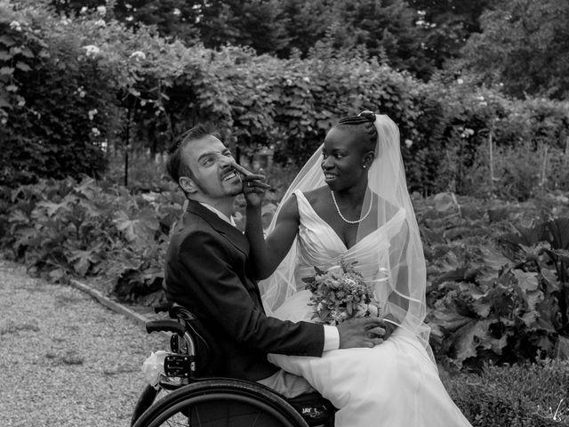 Il matrimonio di Barkissa e Rolando a Besenzone, Piacenza 18