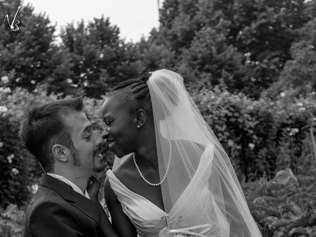 Il matrimonio di Barkissa e Rolando a Besenzone, Piacenza 19