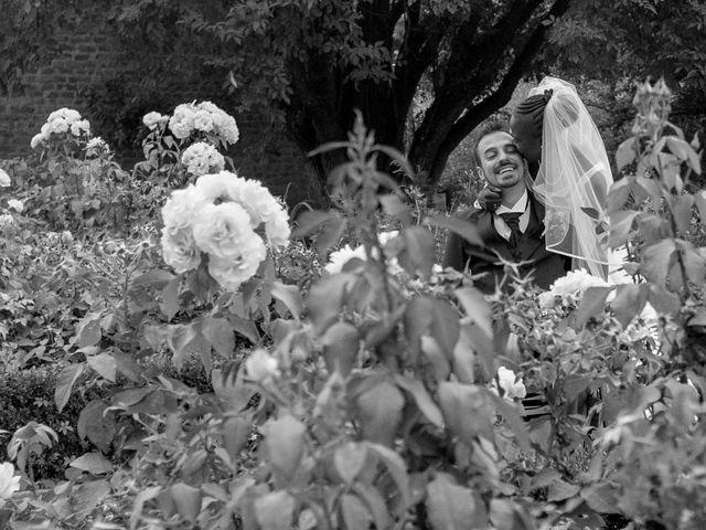 Il matrimonio di Barkissa e Rolando a Besenzone, Piacenza 25
