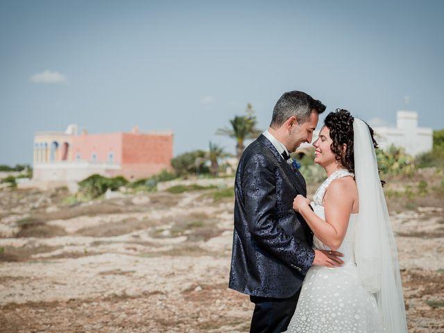 Il matrimonio di Sara e Antonio a Castro, Lecce 55