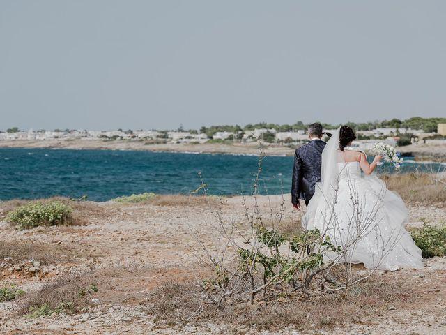 Il matrimonio di Sara e Antonio a Castro, Lecce 56