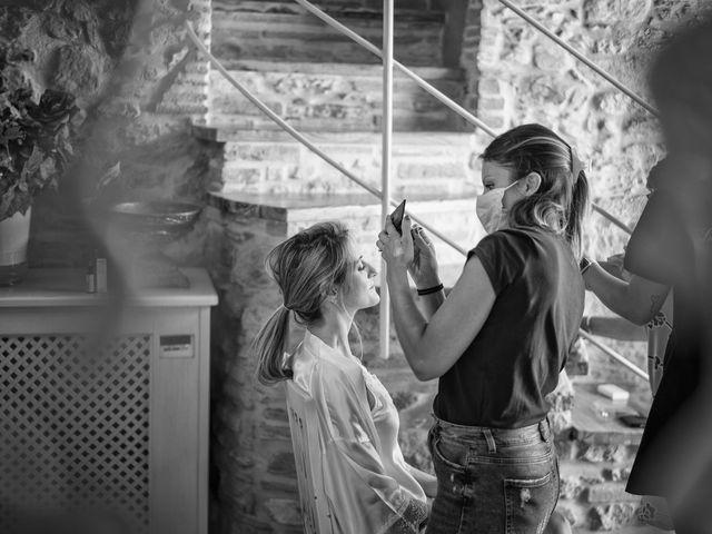 Il matrimonio di Luca e Silvia a Buti, Pisa 23