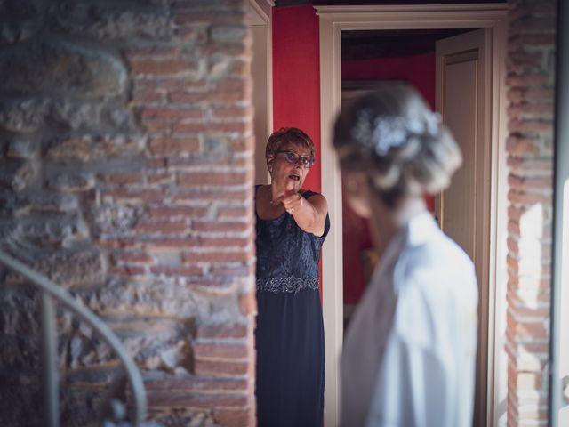 Il matrimonio di Luca e Silvia a Buti, Pisa 43