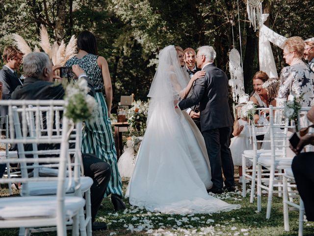Il matrimonio di Luca e Silvia a Buti, Pisa 58
