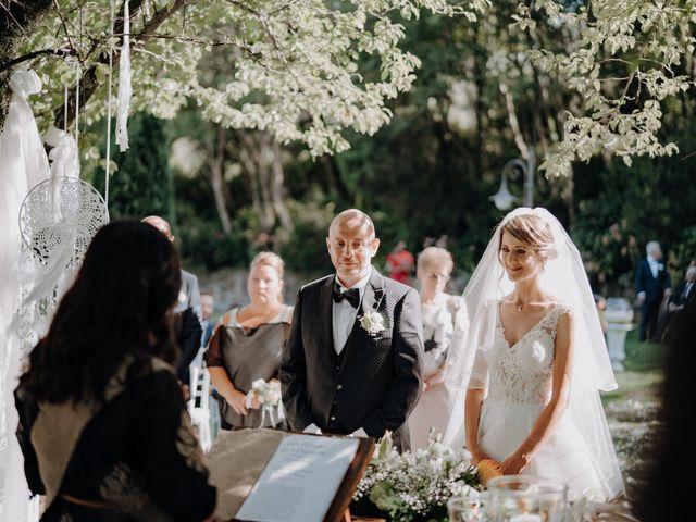 Il matrimonio di Luca e Silvia a Buti, Pisa 59